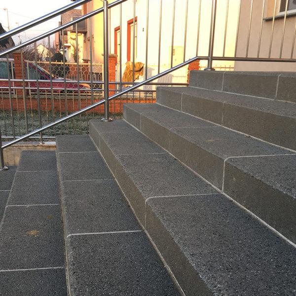 Betonske stepenice R8